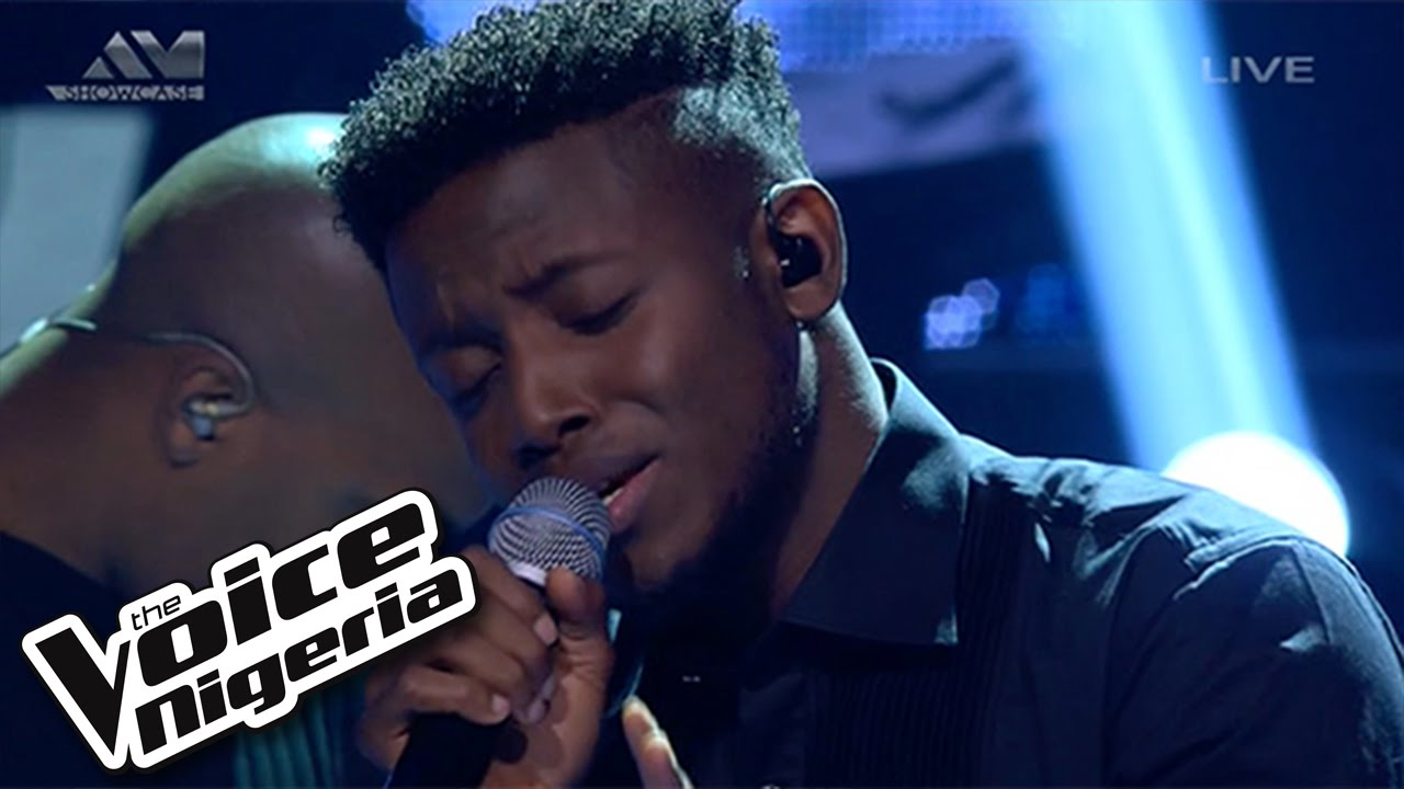 """Download Chike sings """"You're Not The Girl"""" / Live Show / The Voice Nigeria 2016"""