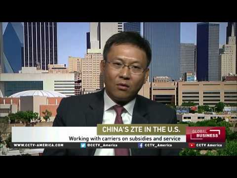 Cheng Lixin of ZTE Corp. discusses increasing North American market