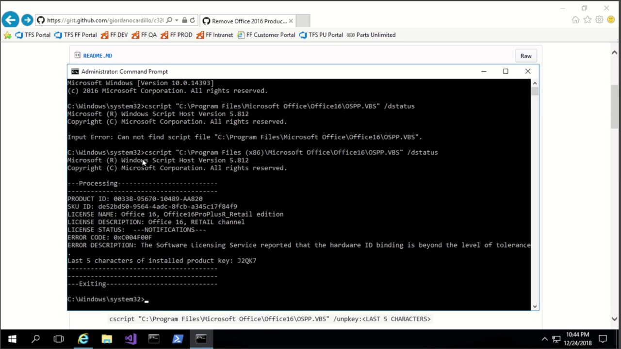 Remove Office 2016 Product Key – Full HD – OG Cloud