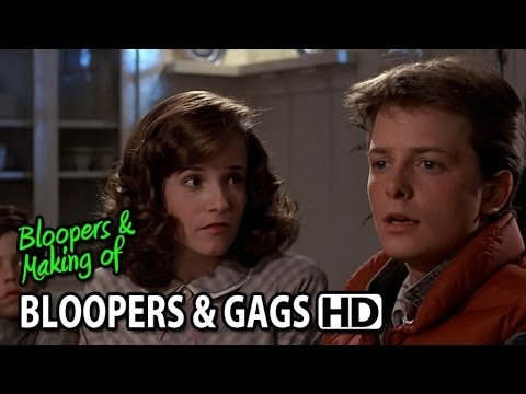 Back to the Future 1985 Bloopers, Gag Reel & Outtakes