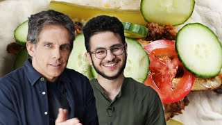 Homemade Chicken Shawarma As Made By Ben Stiller and Ahmed Badr