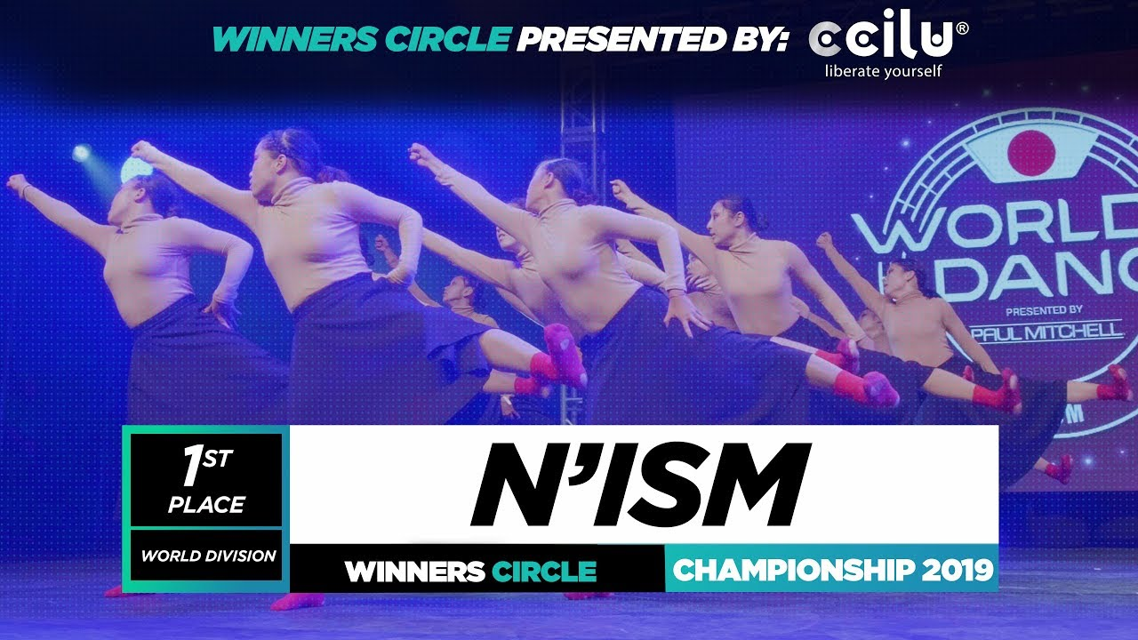 N'Ism | 1st Place World Division | Winners Circle | World of Dance Championship 2019 | #WODCHAM