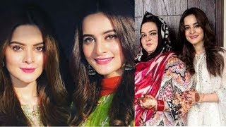Aiman Khan And Minal Khan Celebrating Eid With Family