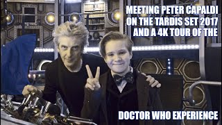Vlog Doctor Who Exclusive is the New Doctor Accidentally Revealed? Meeting Peter Capaldi