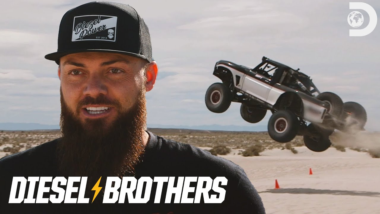 Heavy D Races Todd Leduc in the F100 | Diesel Brothers