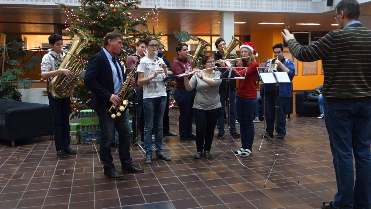 Weihnachtslieder Blasorchester.Blasorchester 2016 Weihnachtslied 1