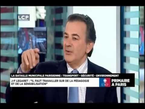 Jean-François Legaret parle des problèmes de Transport à Paris