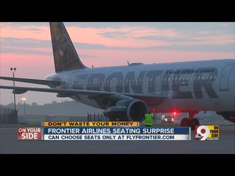 Frontier Airlines seating surprise