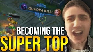 TOP LANE TO MASTER: THE BEGINNING OF A LEGEND!