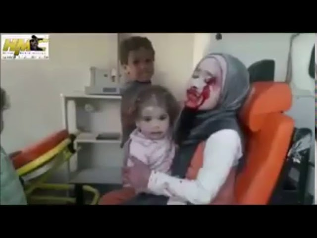 WHITE HELMETS STEALING CHILDREN? IDLIB