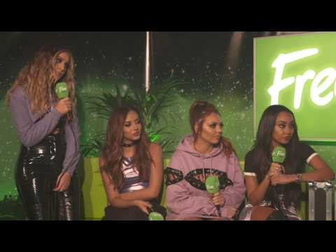Little Mix Free Radio Live interview part 1