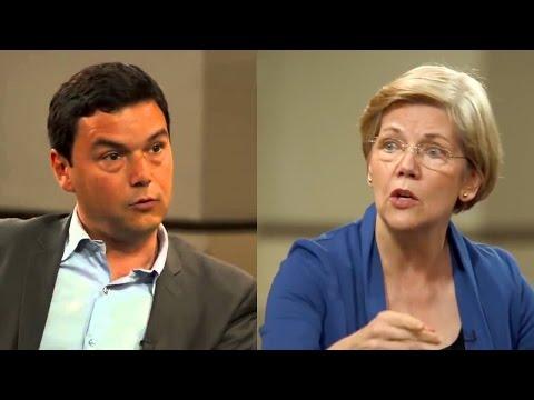 Elizabeth Warren & Economist Thomas Piketty discuss economic equality on HuffPost Live