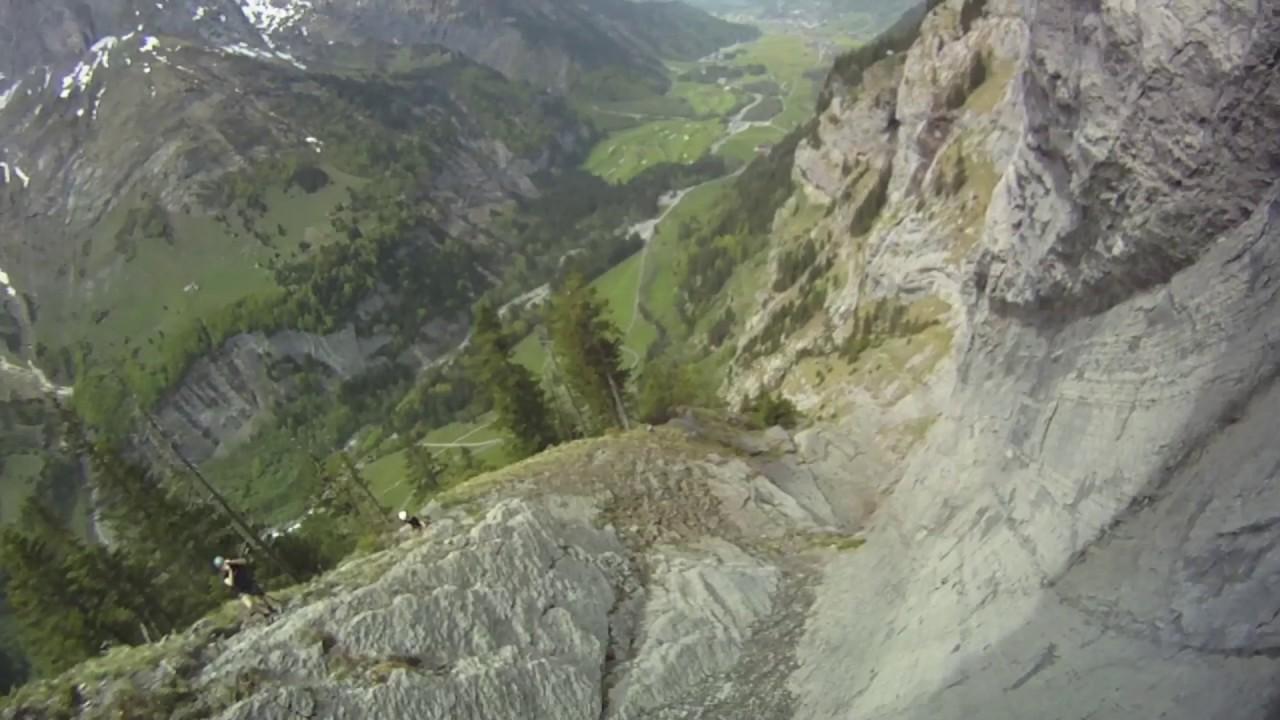 Klettersteig Engelberg : Klettersteig fürenwand via ferrata engelberg youtube