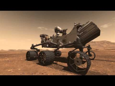 Mars Science Laboratory Curiosity Rover Animation - NASA Jet Propulsion Laboratory