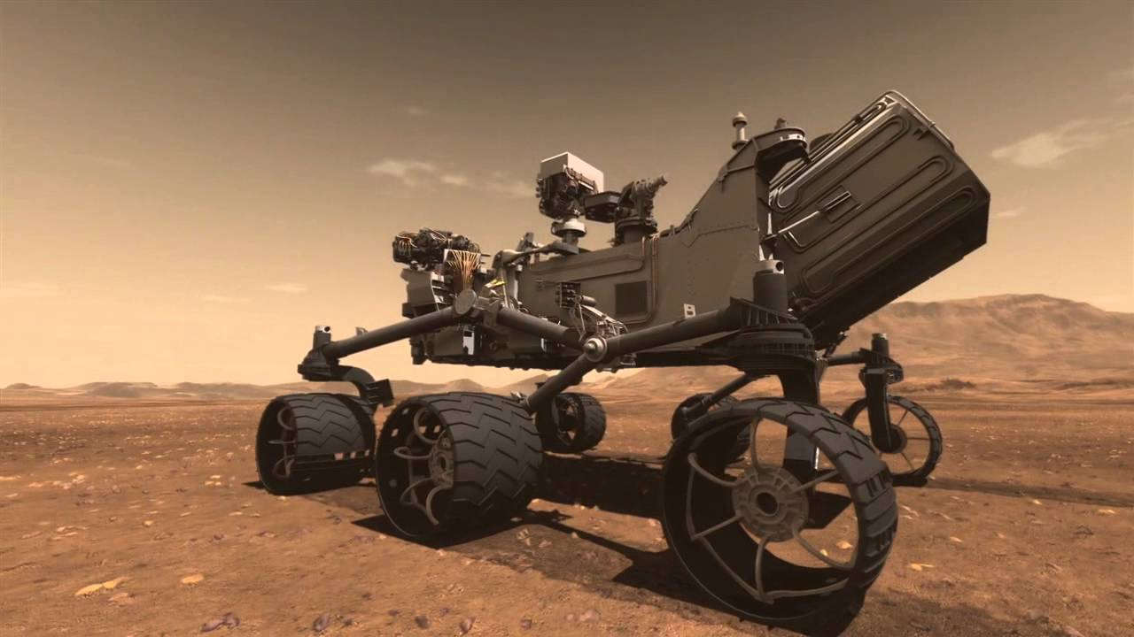 Mars Science Laboratory Curiosity Rover Animation | Doovi