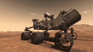 Mars Science Laboratory Curiosity Rover De L'Animation