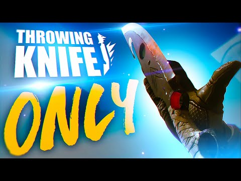 The new throwing knife is Amazing!!! Throwing knife only Rumble Challenge