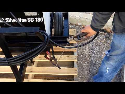 Hobart Silverline SG-180 gas powered arc welder | For Sale | Online Auction