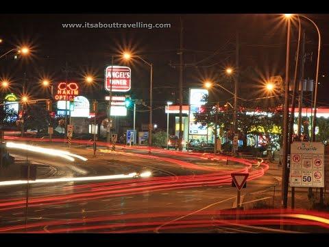 Orangeville Ontario: Driving Thru On Highway 9 / Broadway