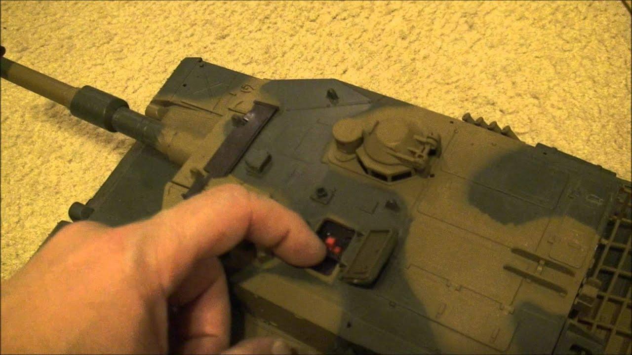 Abrams RC Airsoft Battle Tank