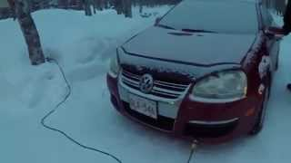 2006 Jetta TDI cold start fail and cure (sorry for the poor sound quality)
