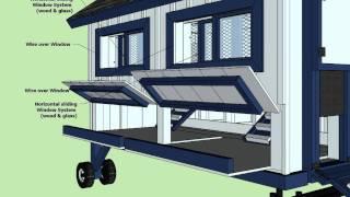 T300 - Chicken Coop Tractor Plans -  How To Build A Chicken Coop