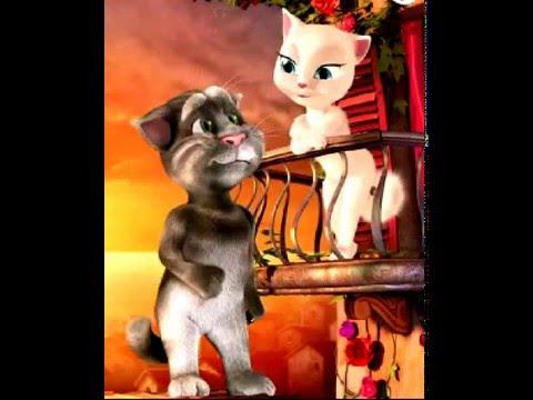 Говорящий Кот Том и Кошка Анжела - YouTube