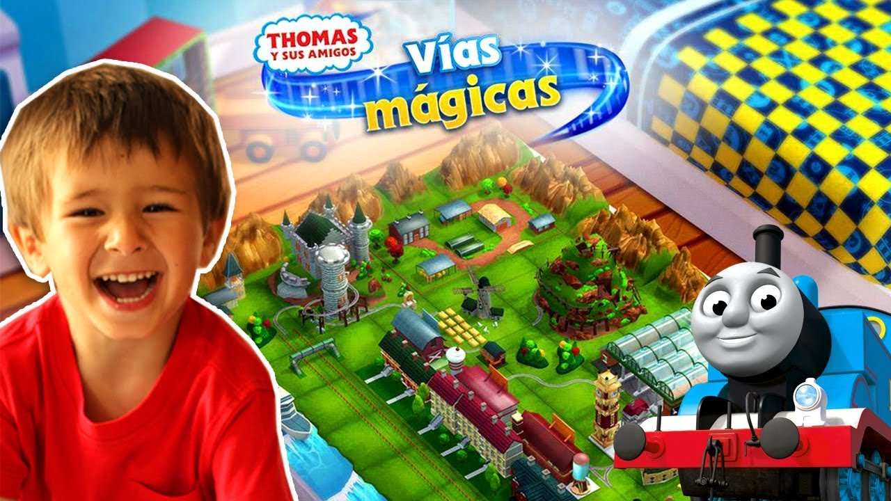 Thomas And Friends Magical Tracks Vias Magicas Juegos Gratis