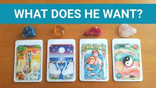 WHAT DOES HE WANT TO HAPPEN BETWEEN US? ❤️ *Pick A Card* Tarot Charm Reading Love Twin Flame