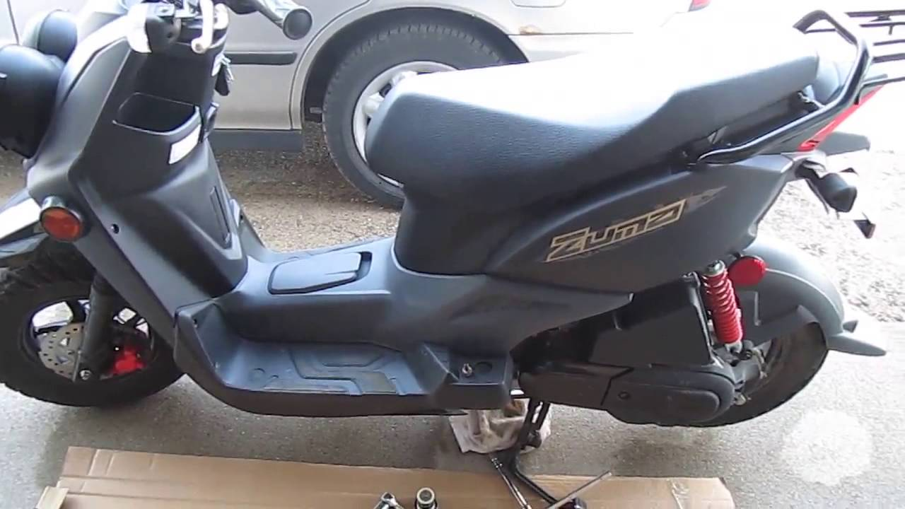 yamaha zuma 50f oil change 2012 2016 model youtube rh youtube com 2000 Yamaha Zuma Review 1999 Yamaha Zuma