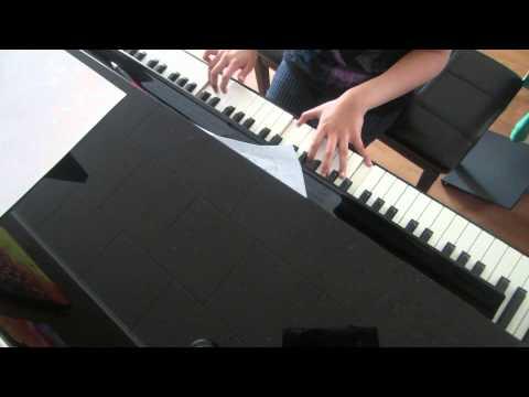 alarm boyfriend piano cover (알람 피아노)