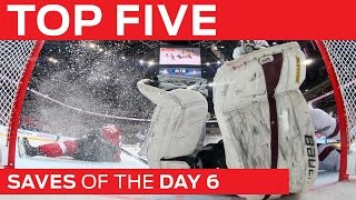 Top 5 Saves | Day 6 | #IIHFWorlds 2015
