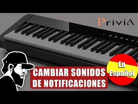 Configurando Sonidos De Notificaciones   Casio Privia PX-S1000 - Essias Souza