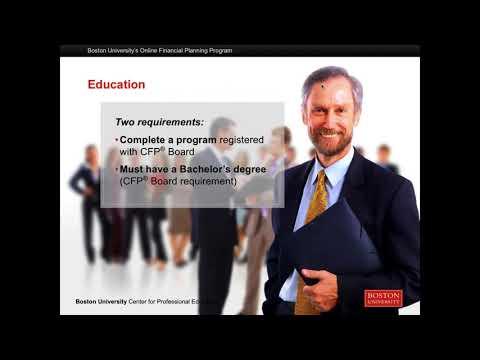 Boston University's Financial Planning Webinar