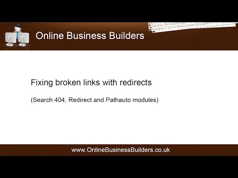 """Drupal 7: Fix """"404 errors"""" / broken links with redirects"""