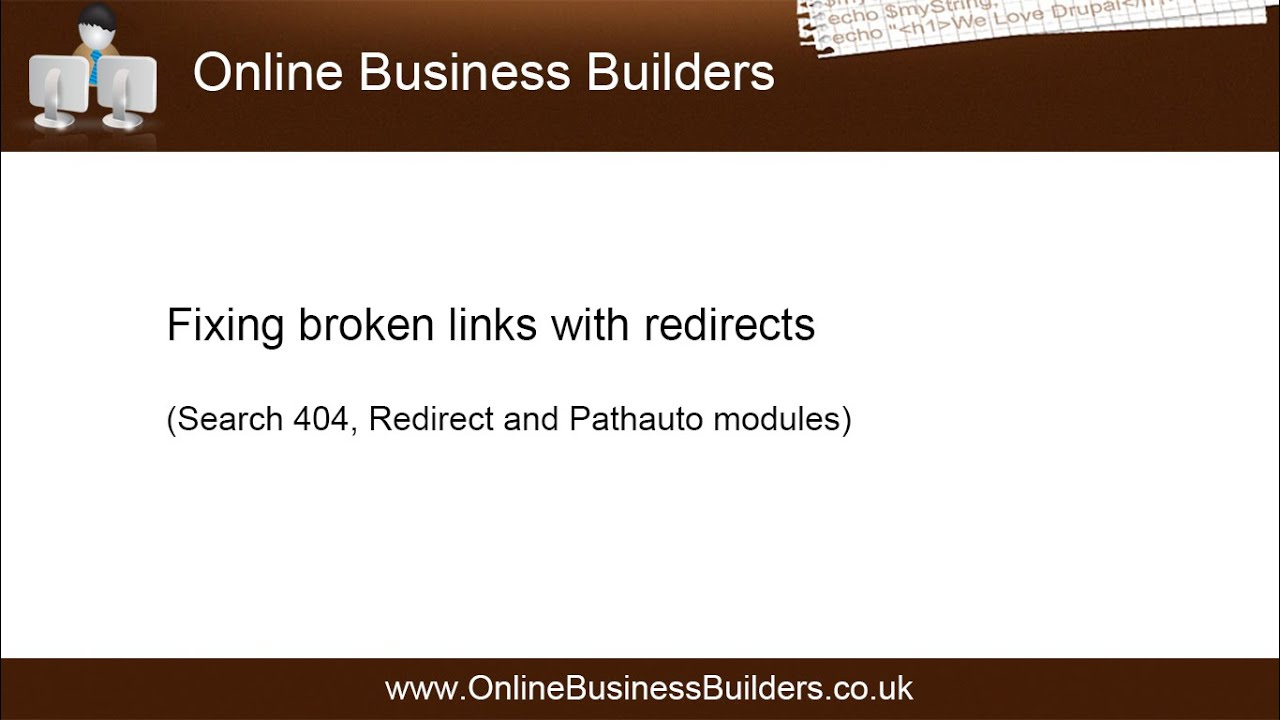 Drupal 7 fix 404 errors broken links with redirects youtube drupal 7 fix 404 errors broken links with redirects pronofoot35fo Gallery