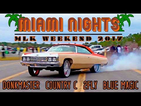 MIAMI NIGHTS : MLK 2017  DKMASTER VS BLUE MAGIC, COUNTRY C VS 2FLY