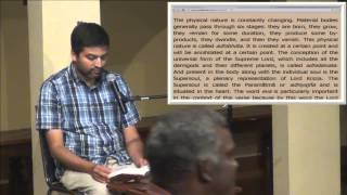 Bhagavad Gita - Attaining the Supreme by HG Sundarananda Prabhu, 11.12.14