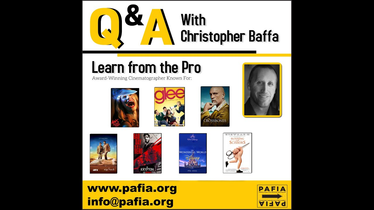 Masterclass with Christopher Baffa