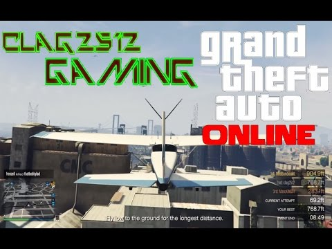 GTA 5 - Fly Low To The Ground Challenge