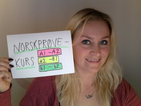 Video 174 KURS FOR NORSKPRØVEN (A1-A2/A2-B1/B1-B2)