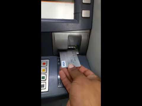 Atm Machine money withdarwal Bank Al Habib
