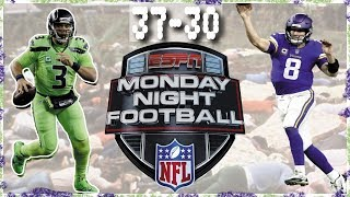 Seahawks Defeat Vikings 37-30 on Monday Night Football. 12-2-2019