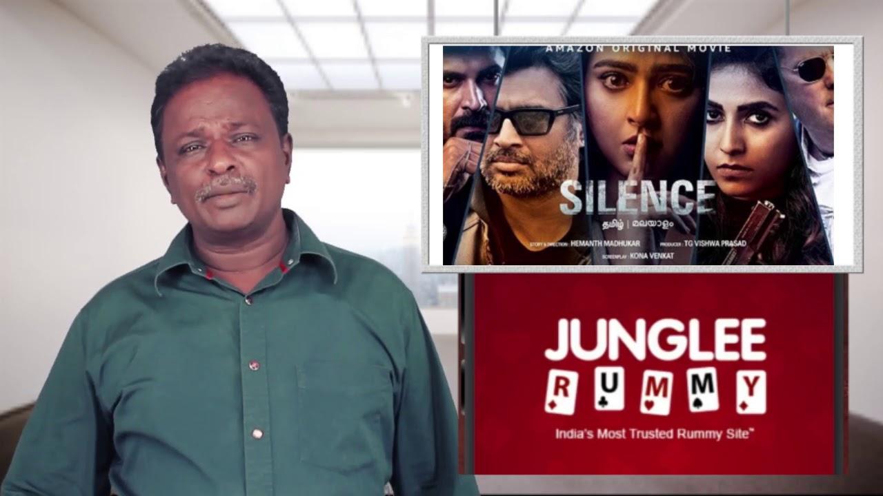 SILENCE Review - Madhavan, Anushka, Michael Madsen - Nisaptham - Tamil Talkies