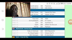 Yesterday's football game results from LiveScore cz official HD video 2019-2020