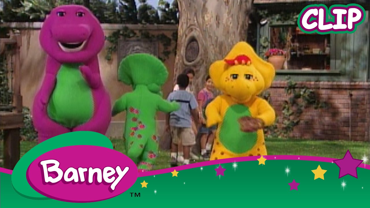 Barney Baby Bop Plays Olympic Baseball Youtube
