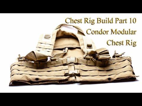 Condor Modular Chest Rig:  Chest Rig Build Part 10