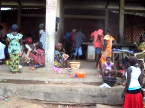 Fish Market in Catio, Guinea-Bissau