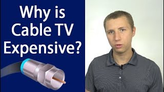 Why Cable & Satellite TV Is So Expensive