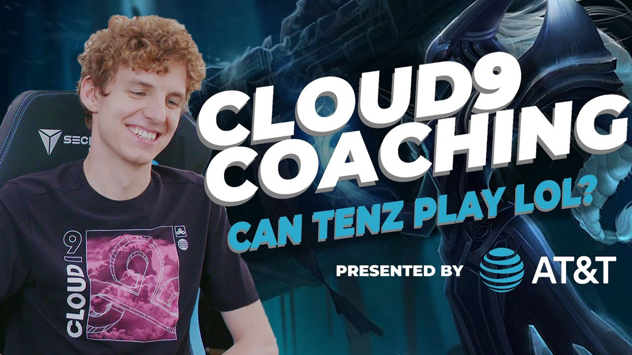 How well can C9 TENZ play LEAGUE OF LEGENDS? | Cloud9 Coaching Ep. 3 Presented by AT&T